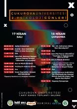 Çukurova Üniversitesi 2. Psikoloji Günleri